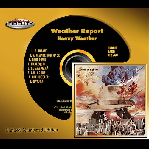 Weather Report / Heavy Weather  Audio Fidelity Hybrid SACD