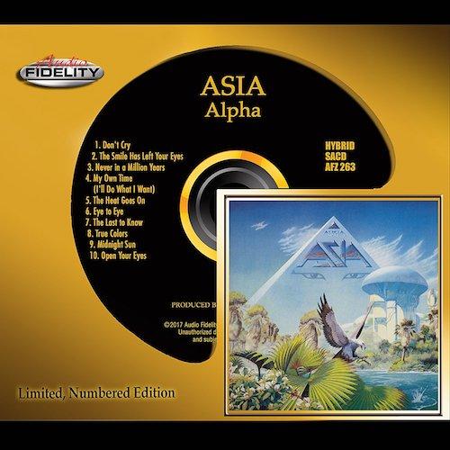 Asia / Alpha (Audio Fidelity Hybrid SACD)
