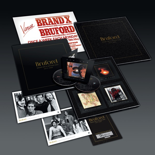 Bruford / Seems Like A Lifetime Ago 1977-1980