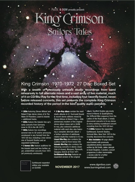 SAILORS' TALES TRACKLIST