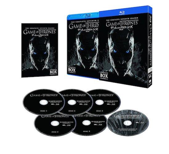 『ゲーム・オブ・スローンズ 第七章:氷と炎の歌』 Blu-ray