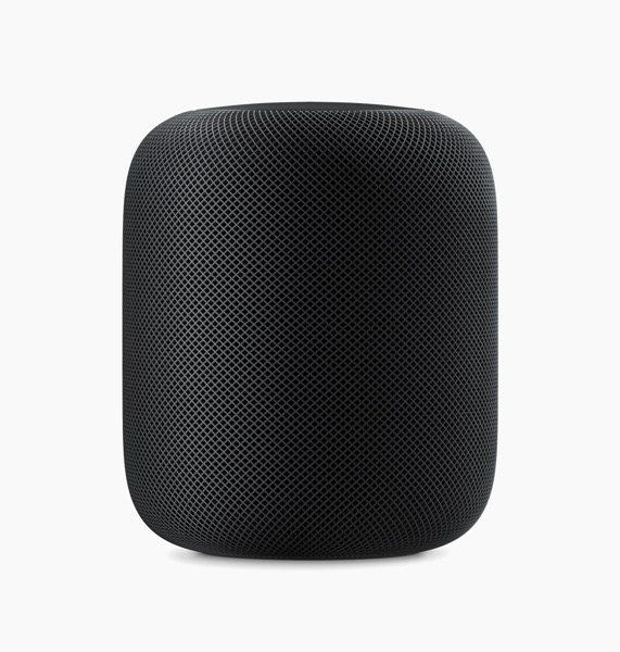 Apple HomePod standing black