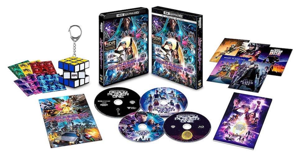 レディ・プレイヤー1 プレミアム・エディション (4K ULTRA HD&3D&2D&特典ブルーレイセット)