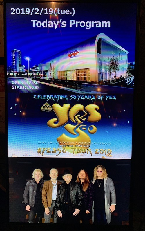 Yes50 at Zepp Nagoya