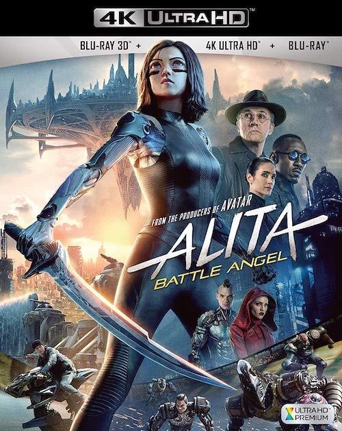 『アリータ:バトル・エンジェル』4K UltraHD